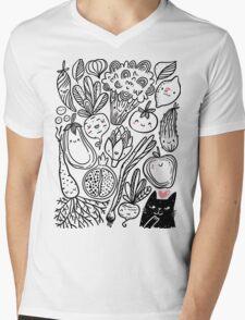 Funny vegetables Mens V-Neck T-Shirt
