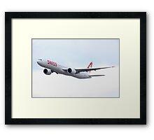 Boeing 777 Framed Print