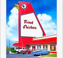 Marietta's Big Chicken - Georgia Landmark - Small Print by Mark Tisdale