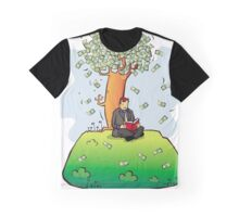 Reading more books makes you wealthy Graphic T-Shirt