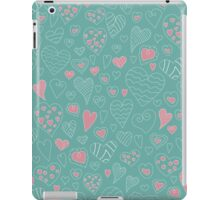 The pattern in the heart iPad Case/Skin