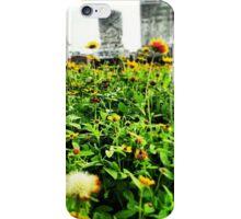 Flowers Grow Everywhere iPhone Case/Skin