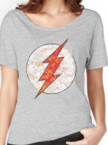 Kid Flash - DC Spray Paint Women's Relaxed Fit T-Shirt