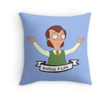 Mr. Frond Throw Pillow