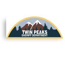 Twin Peaks- sheriff department Canvas Print