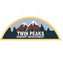 Twin Peaks- sheriff department Photographic Print