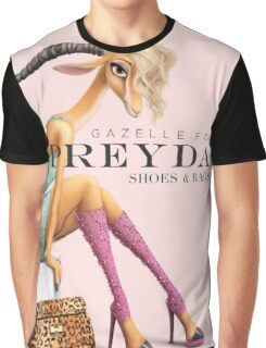 Gazelle for Preyda Graphic T-Shirt