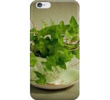 Tea Cup Ivy iPhone Case/Skin