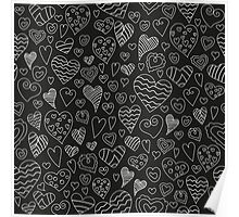 The pattern in the heart Poster