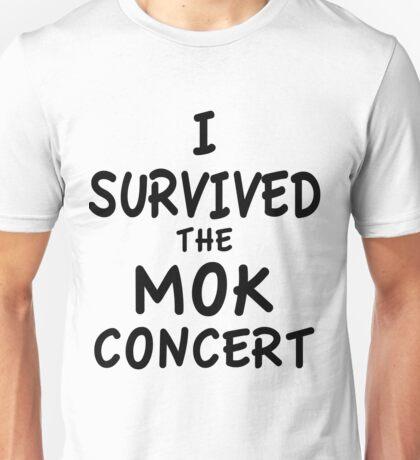 I SURVIVED THE MOK CONCERT Unisex T-Shirt