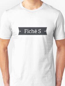 Fiché S Unisex T-Shirt