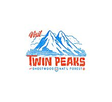 Twin Peaks- Welcome Photographic Print