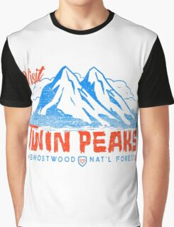 Twin Peaks- Welcome Graphic T-Shirt