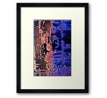 Like Day and Night Abstract Framed Print