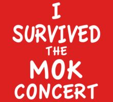 I SURVIVED THE MOK CONCERT Baby Tee