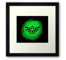Triforce art 3 Framed Print