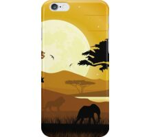 AFRICA LANDSCAPE iPhone Case/Skin