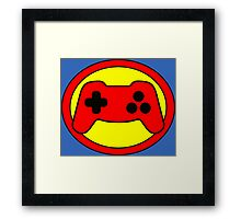 Hero, Heroine, Superhero, Super Gamer Framed Print