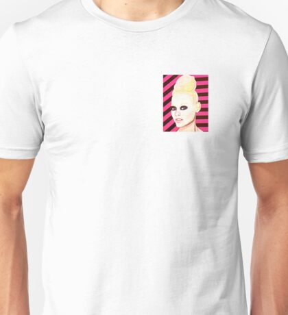 Stripy Girl Unisex T-Shirt