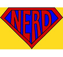 Hero, Heroine, Superhero, Super Nerd Photographic Print