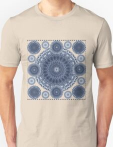 INDIGO CIRCLES MANDALA T-Shirt