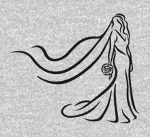 Bride One Piece - Long Sleeve