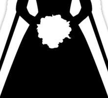 Bride dress Sticker