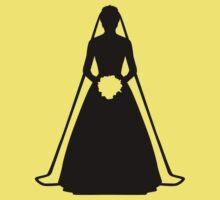 Bride dress Baby Tee