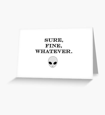 Sure, fine, whatever.  Greeting Card