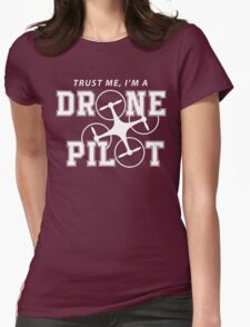 DRONE Womens Fitted T-Shirt