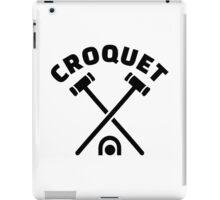 Croquet iPad Case/Skin