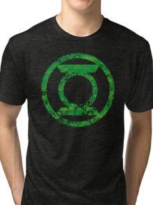 Lantern 4 - DC Spray Paint Tri-blend T-Shirt