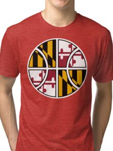 Maryland Basketball Tri-blend T-Shirt