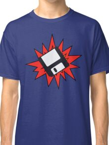 Dynamic Retro Floppy Disc old skool tech Classic T-Shirt