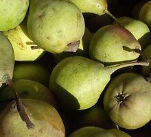Green Pears by Naomi May