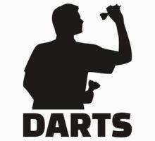 Darts One Piece - Short Sleeve