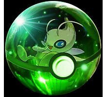 Celebi | Pokeball Insider Photographic Print