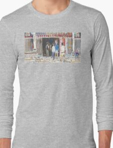 Man Mo Temple Long Sleeve T-Shirt