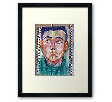 Moon Harry Framed Print