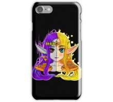 Link Between Two Princesses  iPhone Case/Skin