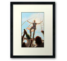 Prince of Seas Framed Print