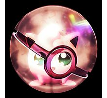 Jigglypuff | Pokeball Insider Photographic Print