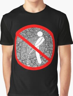 do not pee on the Dude's rug Graphic T-Shirt