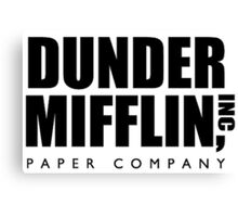 DUNDER MIFFLIN INC Canvas Print