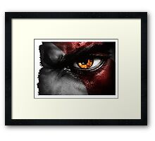 gow warrior Framed Print