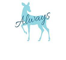 Always- Deathly Hallows- RIP Alan Rickman by KiddCustoms