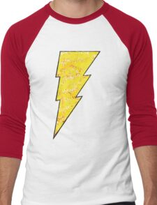 Shazam - DC Spray Paint Men's Baseball ¾ T-Shirt