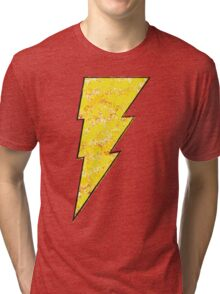 Shazam - DC Spray Paint Tri-blend T-Shirt