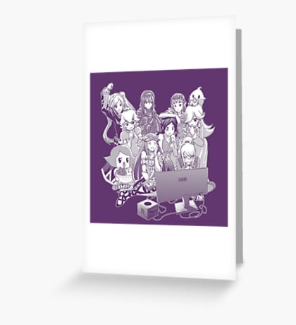 Smash Night Greeting Card