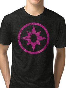 Lantern 7 - DC Spray Paint Tri-blend T-Shirt